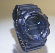 Casio G-Shock Watch GD-110 Matte Black +new battery +works