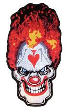 large JUMBO ACE CRAZY CLOWN JACKET BACK PATCH JBP78 circus clowns new patches