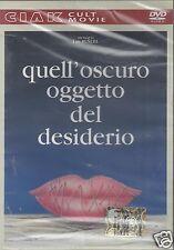 Dvd **QUELL'OSCURO OGGETTO DEL DESIDERIO** di Luis Bunel nuovo 1977