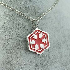 COLLANA SITH STAR WARS 7 VII LOGO SIMBOLO DARTH VADER FENER CIONDOLO NECKLACE #1