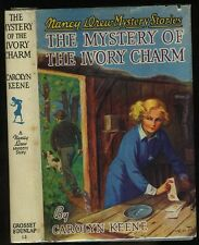 Nancy Drew: (#13) The Mystery of the Ivory Charm HB/DJ 1954A-42 (1936)