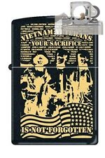 Zippo 218 vietnam verteran sacrifice Lighter with PIPE INSERT PL