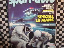revue SPORT AUTO 1981 / 24 H DU MANS / WM PEUGEOT / TOUR DE CORSE / n°233