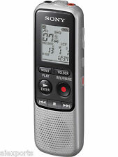 Sony ICD-BX140 4GB High Quality Digital Voice Recorder with Sleek Design Silver