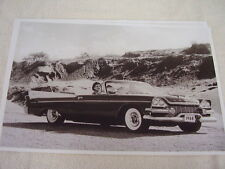 1958 DODGE CUSTOM ROYAL  CONVERTIBLE 11 X 17  PHOTO  PICTURE