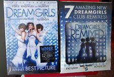 DREAMGIRLS DVD w/ bonus remix CD NEW Wal-Mart exclusive