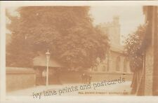Bromley, Parish Church, old RP postcard, unposted
