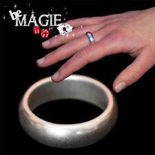 PK Ring - Taille M - 20 mm - Bague aimantée Argent - Tour de magie