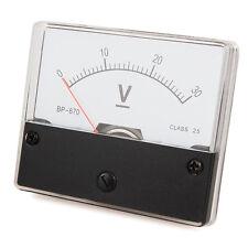 Messinstrument 0 - 30 V DC zum Einbau, Einbaumessinstrument, Analog Voltmeter