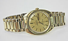 VINTAGE OMEGA CONSTELLATION AUTOMATIC CHRONOMETER CAL 751 MAN'S WATCH,14K BEZEL