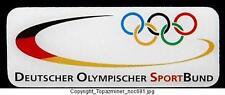 OLYMPIC PINS UNDATED DEUTSCHER GERMANY SPORTS BUND TEAM