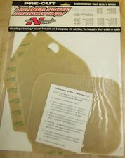 HONDA CR80 1992 93 94 95 PRE-CUT CLEAR NUMBER BACKGROUNDS N-STYLE NO1-100