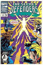 Secret Defenders #2 (1993, vf 8.0) Dr Strange, Wolverine, Spider-Woman...