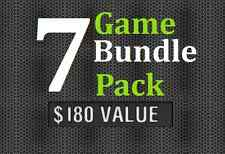 PS3 - 7 Game Bundle Pack - $180 Value