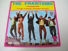 "The Phantoms - Tormented / I'll Go Crazy RARE DUTCH BEAT 7"" VINYL MAXI SINGLE"