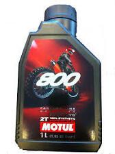 huile motul 800 2 temps moto cross factory line 100 % synthetic