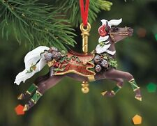 Breyer Horses 2016 Tartan Carousel Christmas Tree Ornament - 700620