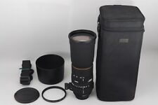 "#1184""""""Excellent+++"""""" Sigma APO 170-500mm F/5-6.3 DG Lens for Nikon from JAPAN"