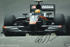"Formula One F1 Driver Bruno Senna Lotus Hand Signed Photo 12x8"" M"
