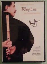 riley lee  THE SOUND OF BAMBOO in concert june 2003  DVD NEW shrink tear