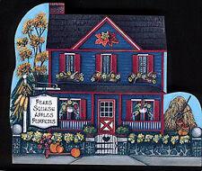 Brandywine Seasons of the Heart: OCTOBER Harvest House - Wooden Shelf Sitter