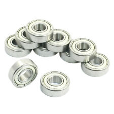 8mm x 19mm x 6mm Sealed Deep Groove Radial Ball Bearings 698Z 10 Pcs LW