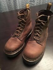 Doc Marten Boots, 8 Eye, Brown, Mens Size 5 Dr Marten