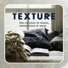 Texture: The essence of stone, wood, linen & wool-ExLibrary