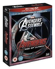 AVENGERS 3D Assemble / Age of Ultron [Blu-ray 3D Set] Complete 2-Movie Pack