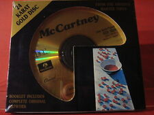 "DCC GZS-1029 PAUL McCARTNEY ""McCARTNEY"" (24 KT GOLD COMPACT DISC/FACTORY SEALED)"