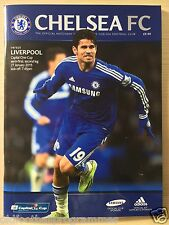 CHELSEA V LIVERPOOL (27/01/2015) CAPITAL ONE CUP SEMI FINAL 2ND LEG PROGRAMME