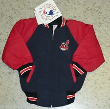 Cleveland Indians youth sz 2 winter Jacket Coat  MINT w/ Tags Brand New KIDS 2T