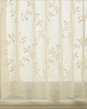 """Heritage Lace TRELLIS Panel Curtain - Ecru 60"""" X 84"""" Made in the USA"""