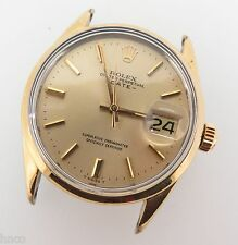 .VINTAGE 1971 ROLEX OYSTER PERPETUAL 1550 GOLD CAPPED GNTS WATCH