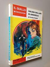 Forbes RYDELL - 100.000 DOLLARI DI ANGOSCIA , Giallo Mondadori n. 724 (1962)
