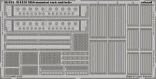 EDUARD 1/35 PE PHOTO-ETCHED RACK & BELT SET for AFV CLUB M1128 STRYKER MGS