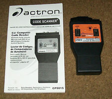 Actron Code Scanner CP9015 - Ford Lincoln with EEC-IV or MCU controller