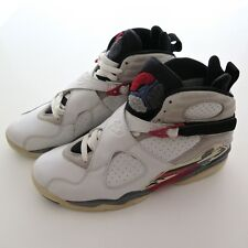 NIKE AIR JORDAN 8 VIII BUGS BUNNY RETRO 2002 2003 SIZE 8 Wht/Blk-True Red