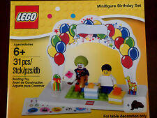 New LEGO Minifigure Birthday Set Boy Girl 850791 Factory Sealed Buiding Toy