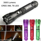 Original 3500LM CREE XML T6 LED Flashlight Torch Lamp Torch Light 3 Modes 18650