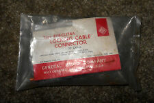 ~NOS/NIB General Radio Type 874-CL174A Locking Cable Connector 50Ω SEALED!