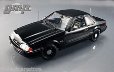 1992 FORD MUSTANG 5.0 FBI PURSUIT BLACKED OUT LIMITED TO 948pc 1/18 BY GMP 18805