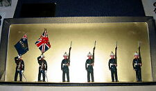 BLENHEIM PLOMB 54 MM TOY SOLDIERS ROYAL MARINES COLOUR PARTY