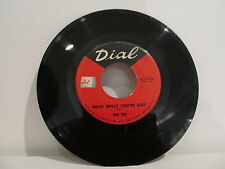 45 RECORD JOE TEX- HOLD WHAT YOU'VE GOT