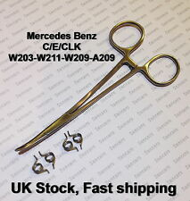 Mercedes C/E/ CLK Class W203 / W211 / A209 DOOR LOCK REPAIR KIT -for 4 actuators