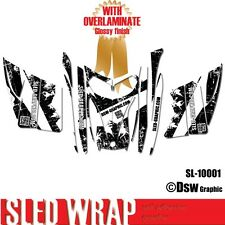 SLED-GRAPHIC SPONSOR WRAP GRAPHICS KIT SKI-DOO REV MXZ SNOWMOBILE 03-07 SL10001