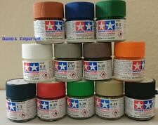12 x Tamiya Acrylic Paints (10ml)  - X and XF range - Choose Your Colours