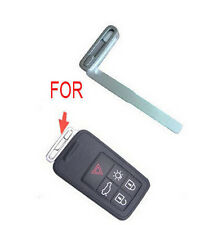 REPLACEMENT UNCUT KEY BLADE VOLVO S40 S60 S80 XC 60 70 90 5 BTN SMART REMOTE FOB