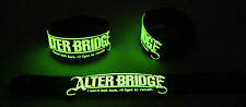 ALTER BRIDGE NEW! Glow in the Dark Rubber Bracelet Wristband FORTRESS GG285