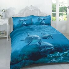 Duvet Cover Set 3D Animal Print Bedding Pillow Cases Size Single